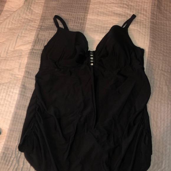 Cacique Other - Sexy plus size lane Bryant Cacique swim top